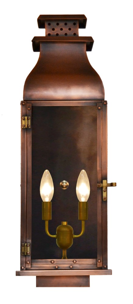 The Coppersmith Water Street Flush Mount Gas Or Electric