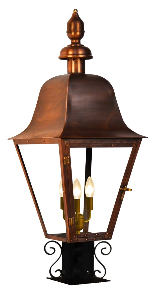 The Coppersmith Belmont Gas And Electric Lantern Belmont