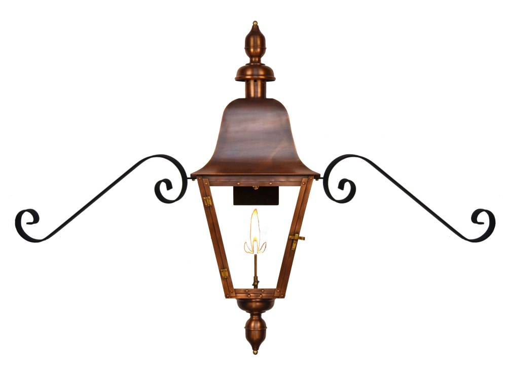 The CopperSmith Belmont Gas and Electric Lantern Belmont Gas u0026 Electric Lantern by The CopperSmithBM Belmont  sc 1 st  Gas Copper Lanterns : coppersmith lighting - azcodes.com